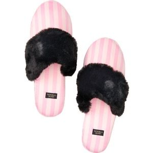 VICTORIA'S SECRET Signature Satin Slippers